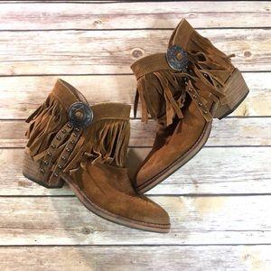 Sam Edelman Sidney boot in whiskey  Size 6